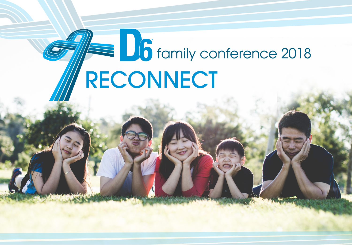 D6 Family Conference 2018 : Reconnect - Group Registration