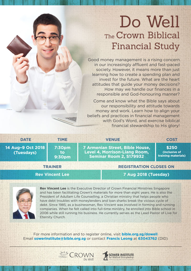 Comparing Crown Ministries & Financial Peace   Personal ...