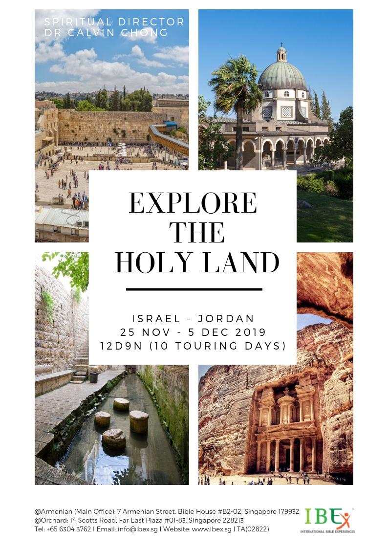 Bible Land Tours, Christian Faith Tours & Special Interest Tours