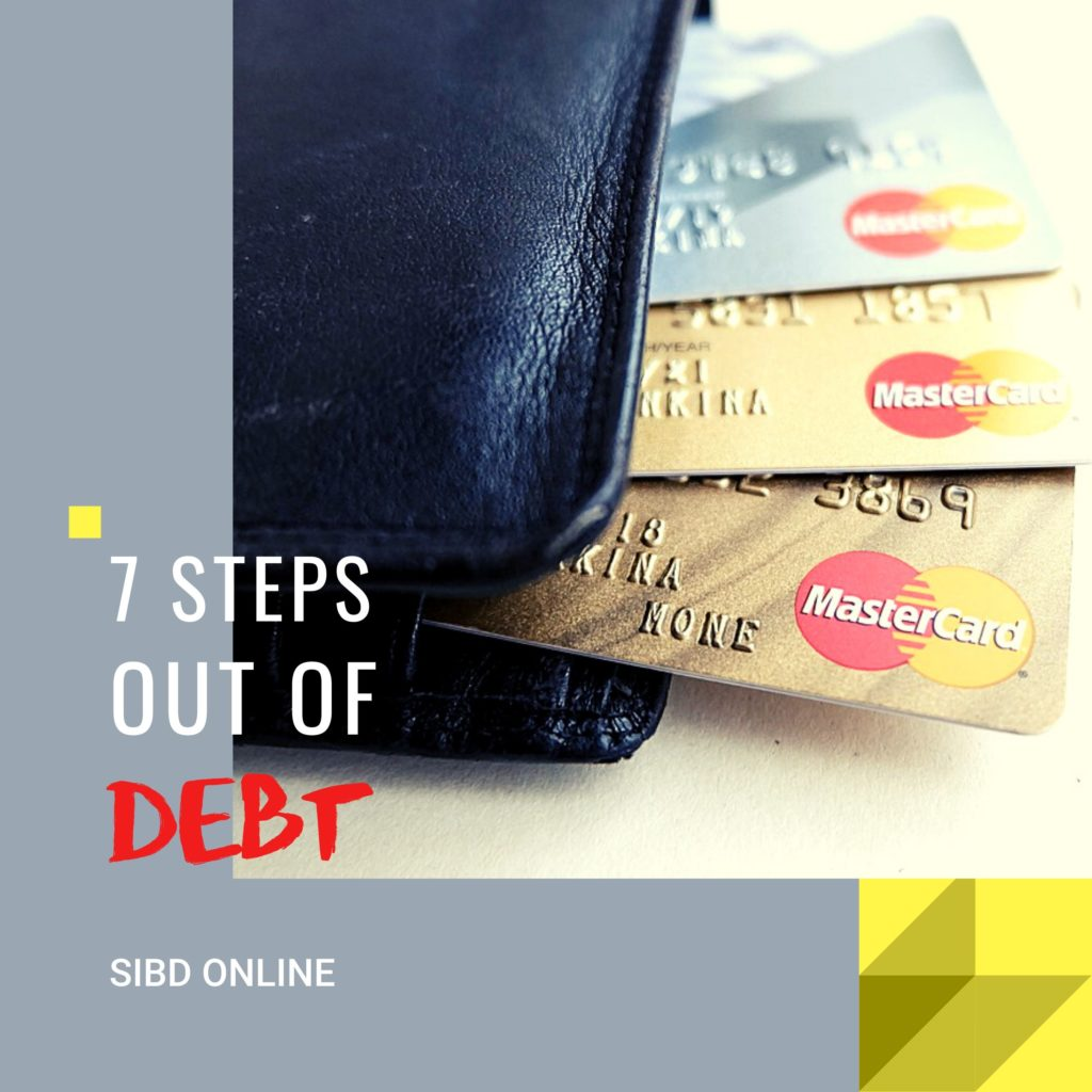 7 Steps Out of Debt